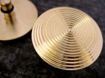 Brass T Series Fully Ribbed Image